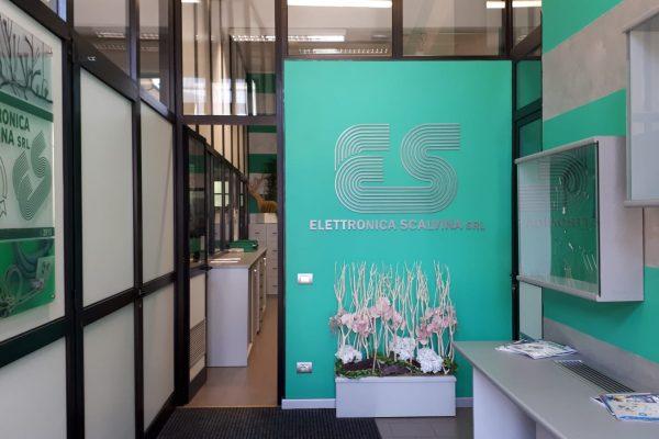 elettronica scalvina ingresso uffici
