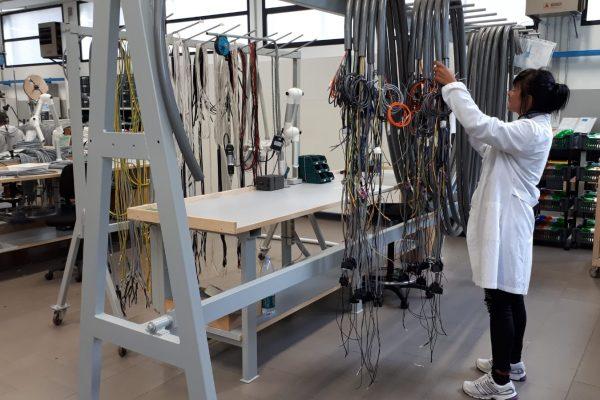 gestione dei cablaggi elettrici